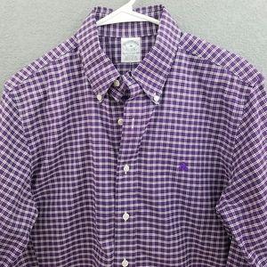 Brooks Brothers Supima Cotton Fleece Logo Shirt